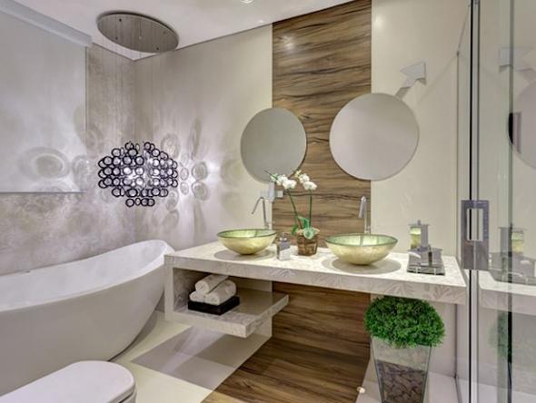 Banheiro de casal como montar e decorar 12