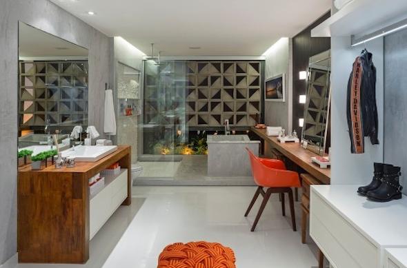 7 dicas de como montar e decorar banheiro de casal e 15 lindos modelos -> Banheiro Decorado De Casal