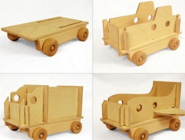 Como fazer brinquedos de madeira 9
