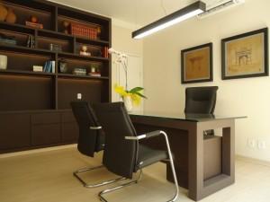 Decorar escritório moderno 001