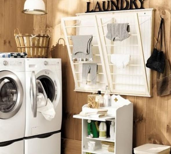 Decorar uma lavanderia retrô5
