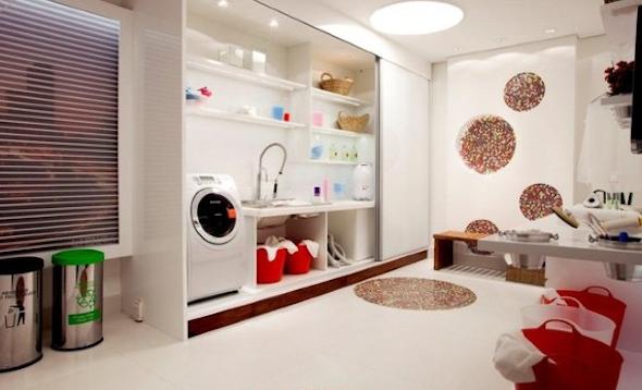 Decorar uma lavanderia retrô7