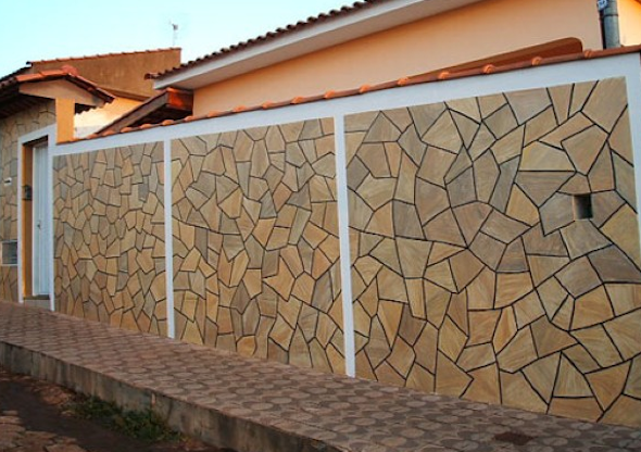 Frente de casas com cer mica 18 modelos e id ias para decorar for Ceramica para revestir paredes