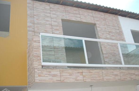 Frente de casas com cer mica 18 modelos e id ias para decorar for Modelo de casa segundo piso