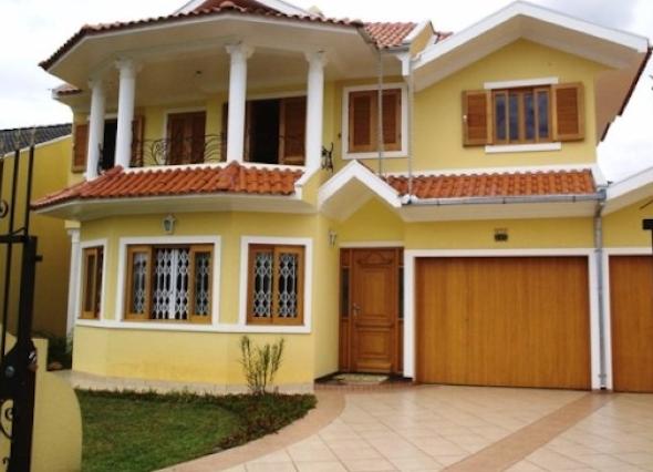 Frente de casas pintadas em diversas cores 14 modelos e Casas pintadas interior
