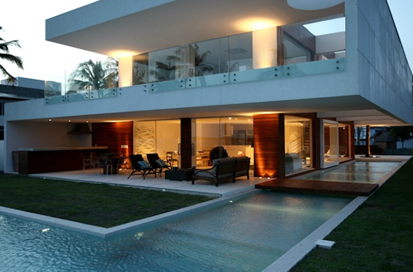 Iluminação para casas de praia 3
