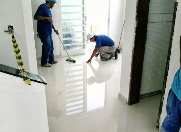 Impermeabilidade de um piso de porcelanato 2