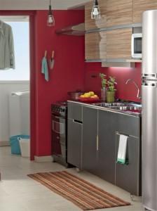 Lavanderias integradas com cozinha 006