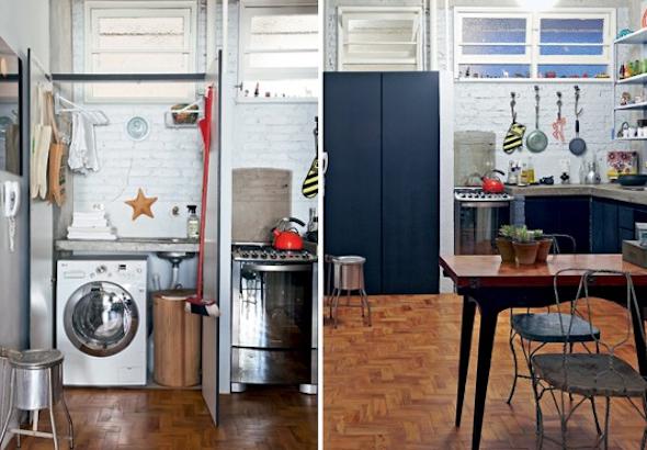 Lavanderias integradas com cozinha10