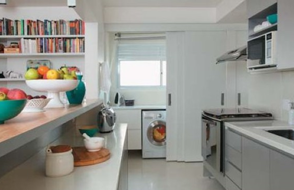 Lavanderias integradas com cozinha7