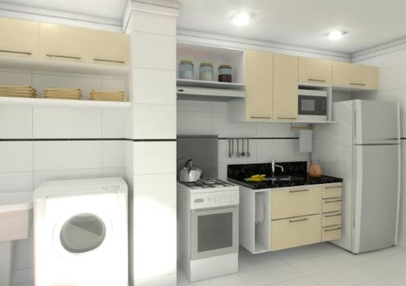 Lavanderias integradas com cozinha8