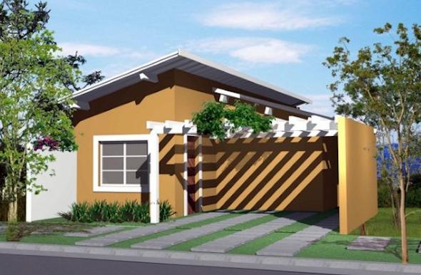 14 modelos de frente de casas pequenas e bonitas