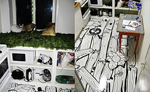 Ambientes caseiros com piso vinilico 11