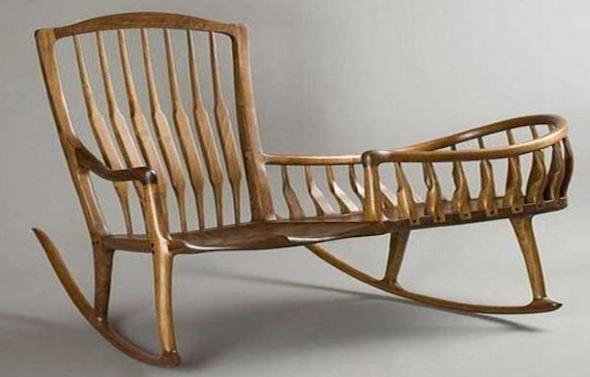 Cadeiras de balanço para sala7