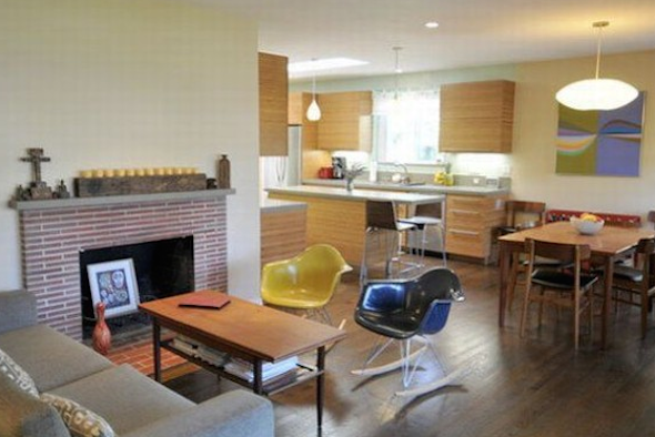 Cozinha integrada com a sala 13