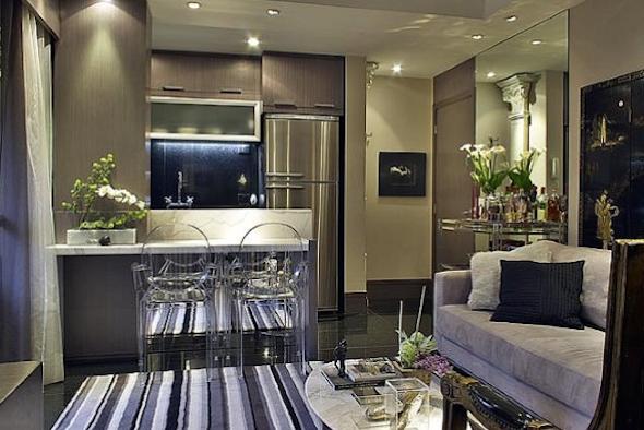 Cozinha integrada com a sala 5