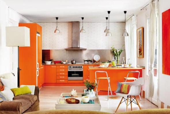 Cozinha integrada com a sala 6