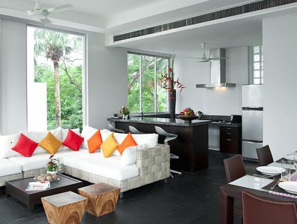 Cozinha integrada com a sala 7