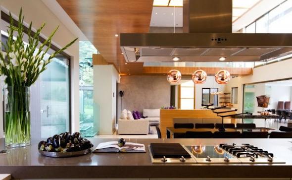 Cozinha integrada com a sala 8