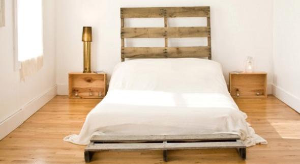14 modelos de camas com paletes e como construir a sua - Modelos de cojines para cama ...