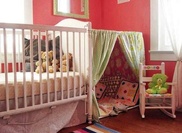 Montar cabana no quarto das crianças 3