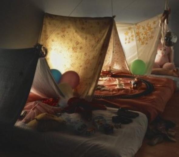 Montar cabana no quarto das crianças 6