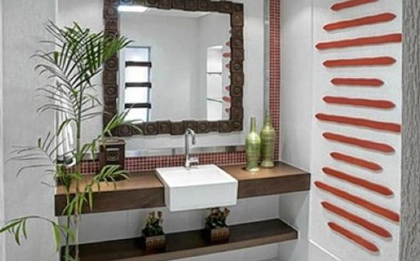 Montar e decorar lavabo social 10