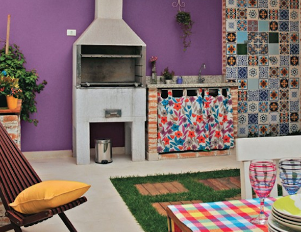 Mosaico de azulejo como usá-lo em sua casa10