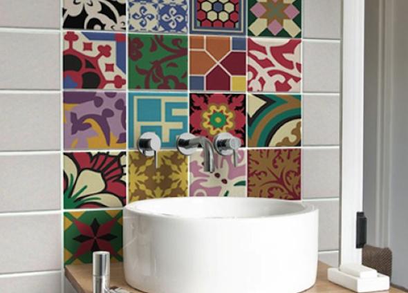 Mosaico de azulejo como usá-lo em sua casa11