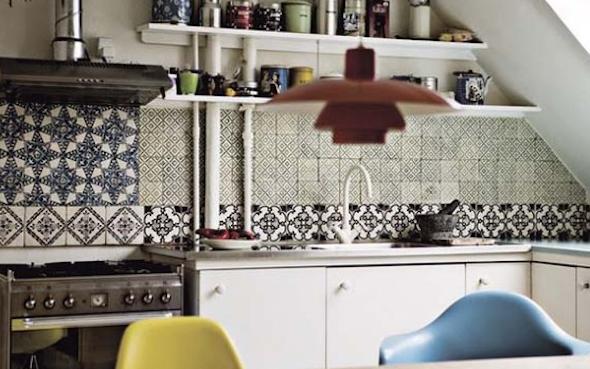 Mosaico de azulejo como usá-lo em sua casa12