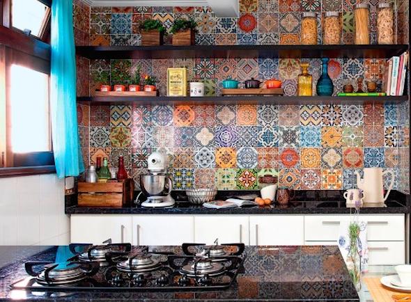 Mosaico de azulejo como usá-lo em sua casa5