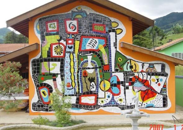 Mosaico de azulejo como usá-lo em sua casa9