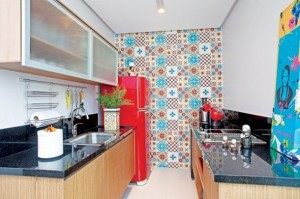 Papel de parede na cozinha 001