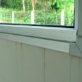 Água infiltrando pela janela 1