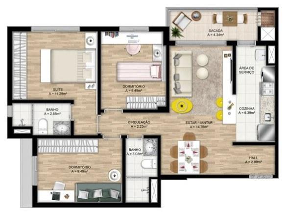 18-plantas_de_casas_com_cozinha_americana