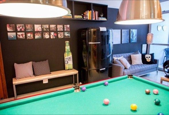 Decoracao Sala Homem Solteiro ~ 15 idéias para decorar uma sala para homem solteiro