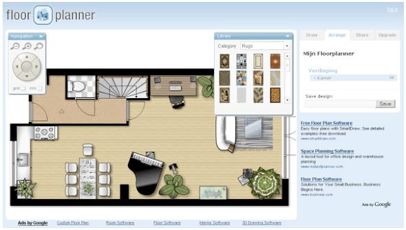 Floorplanner gratis for Programa para disenar casas online