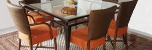 1-tapetes para sala de jantar