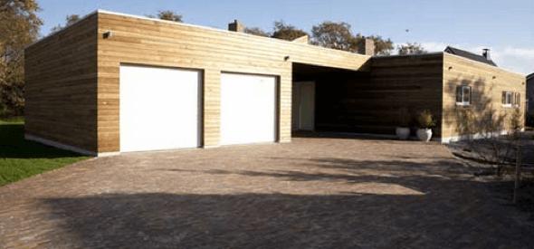 15-Tacos de madeira para revestir parede externa