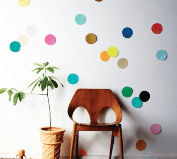 16-Bolas coloridas para decorar a casa