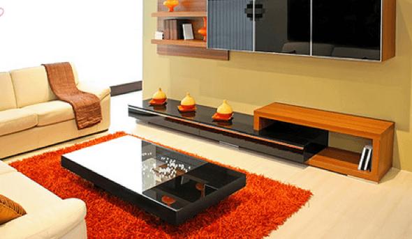 16-Tapetes para sala de estar modelos