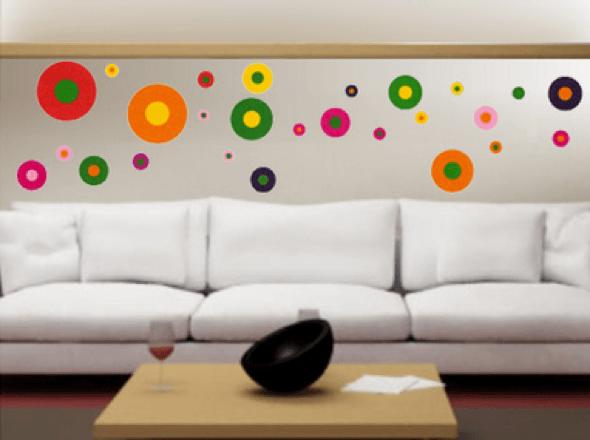 18-Bolas coloridas para decorar a casa