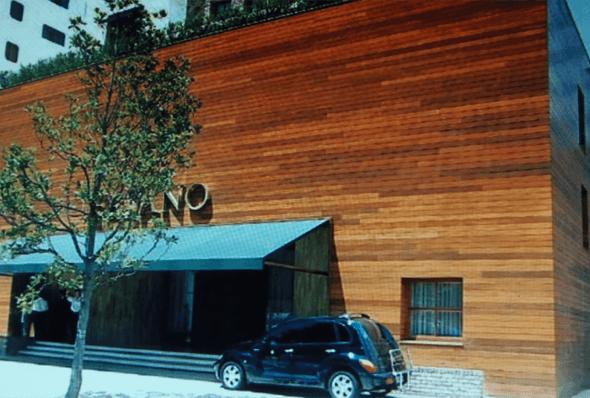 20-Tacos de madeira para revestir parede externa