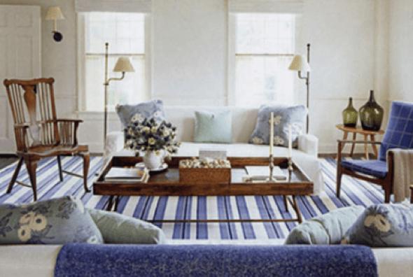 20-Tapetes para sala de estar modelos