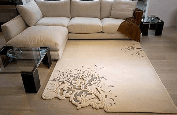 4-Tapetes para sala de estar modelos