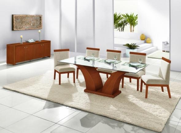 Tapete Para Sala De Jantar Redondo ~ Tapetes para sala de jantar 15 fotos de modelos quadrados e como usá