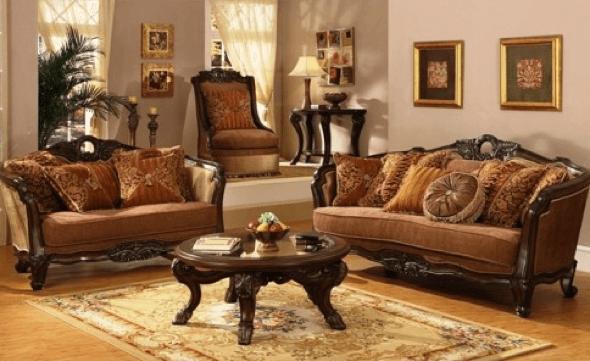 5-Tapetes para sala de estar modelos