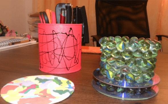 6-Bolas coloridas para decorar a casa