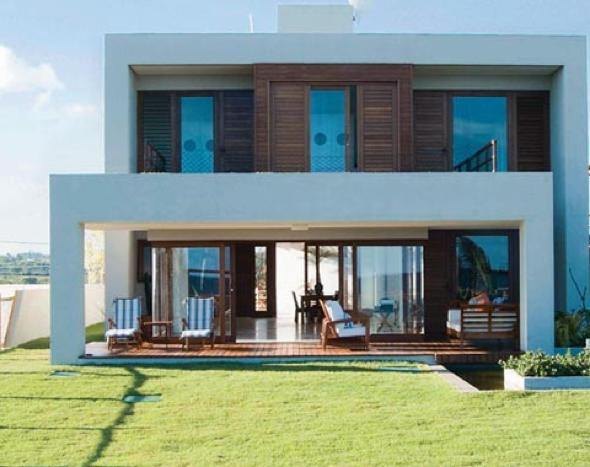 8-Casas com linhas retas