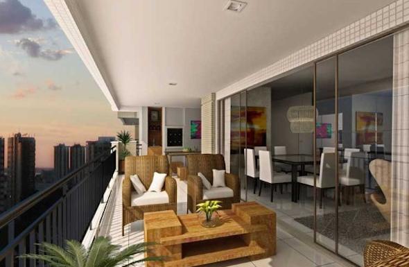 Como montar uma sala de estar na varanda do apartamento-12